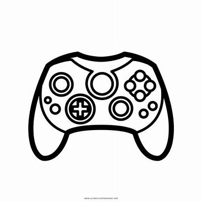 Controller Coloring Xbox Pages Printable Getcolorings Controlle