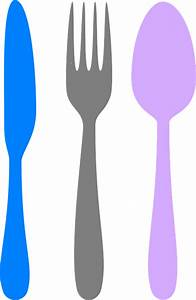 Free vector graphic: Knife, Fork, Spoon, Silverware - Free