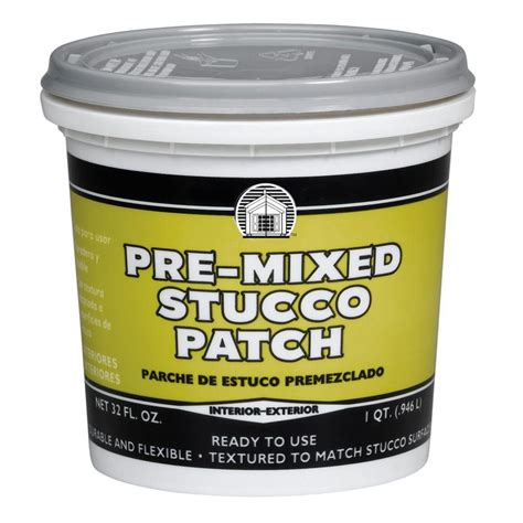 Phenopatch 1 Qt Premixed Stucco Patch64811  The Home Depot
