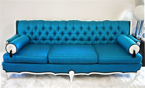 Peacock Blue Loveseat by The Influence Of Peacocks Fabrics And Frames Furniture