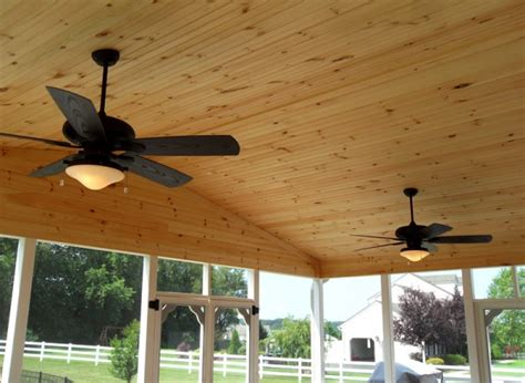 ceiling fan for screened porch outdoor ceiling fan options southern chester county electric