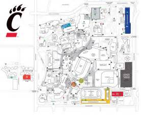University Cincinnati Campus Map