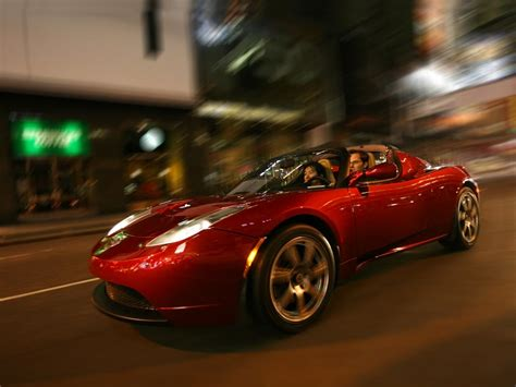 Fully Electric Sports Car by Tesla Roadster Electric Sports Car Tfot