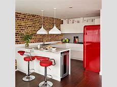 Take a tour around a converted red and white warehouse
