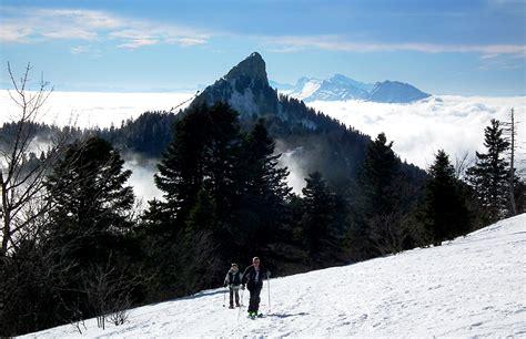 col de porte ski de fond montfromage ou mont fromage 1662 m randonn 233 e 224 ski et raquettes col de porte chartreuse