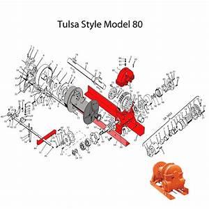 Tulsa Winch Parts Diagram