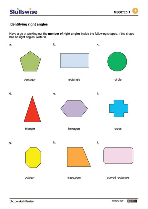 right angles worksheet year 3 the best and most