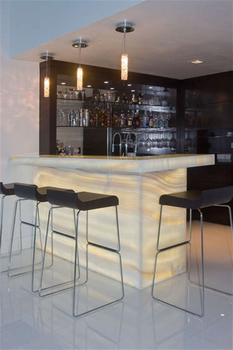 Houzz Bar by Onyx Bar Contemporary Home Bar Miami By Umber