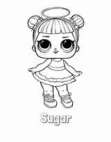 Lol Coloring Doll Surprise Unicorn Dolls Sugar Colouring Colorir Lotta Boyama Malvorlagen Printable Sheets Series Colorear Desenhos Desenho Mewarnai Gambar sketch template