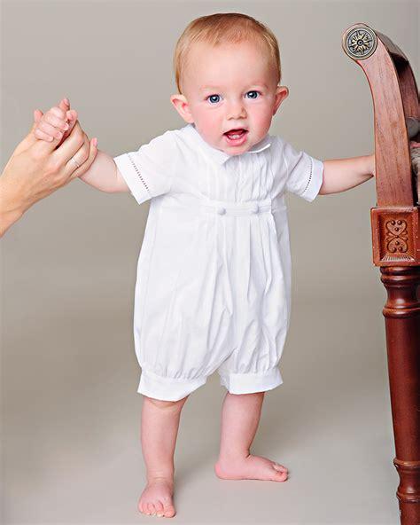 Baptism Boy Christening Romper Christening Boy Blessing Boy David