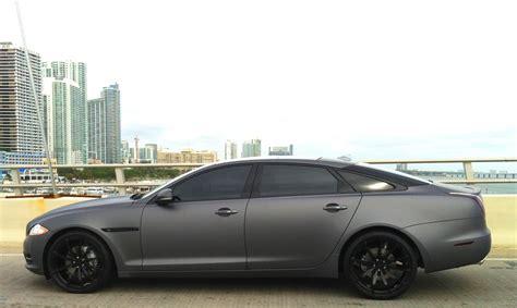Matte Gray Jaguar Xj