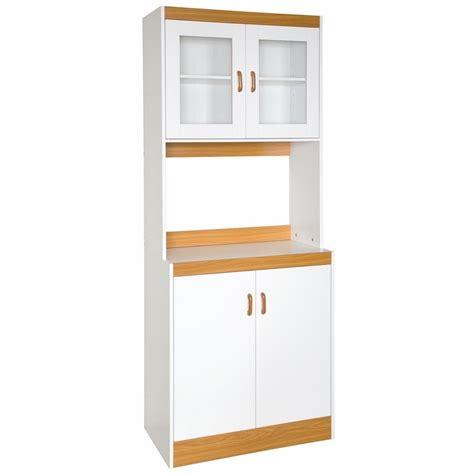 Free Standing Kitchen Storage Cupboards by Kitchen Storage Cabinet Cupboard With Microwave Space