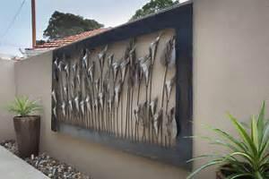 Wall art designs outdoor black steel