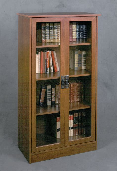 Bookcase Glass Door by Top 12 Bookcases With Glass Doors Of 2017