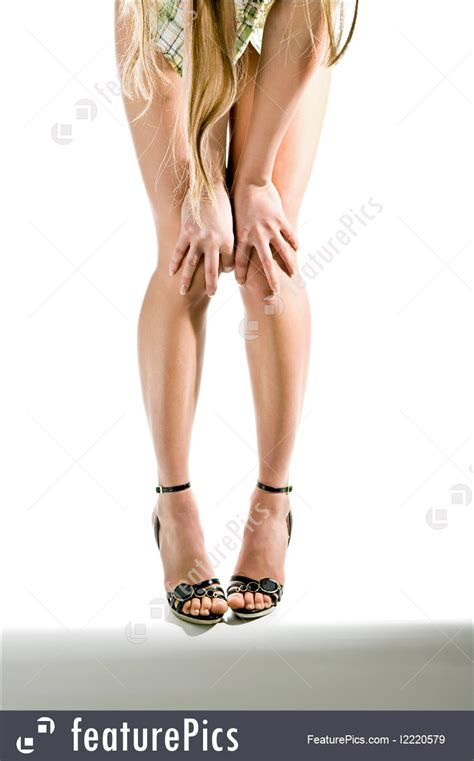 human body parts beautiful legs stock picture