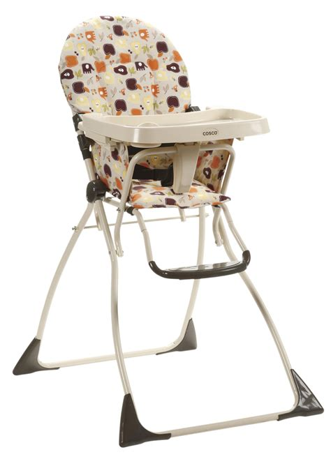 cosco flat fold high chair cosco cosco 174 flat fold high chair fruity jungle by oj