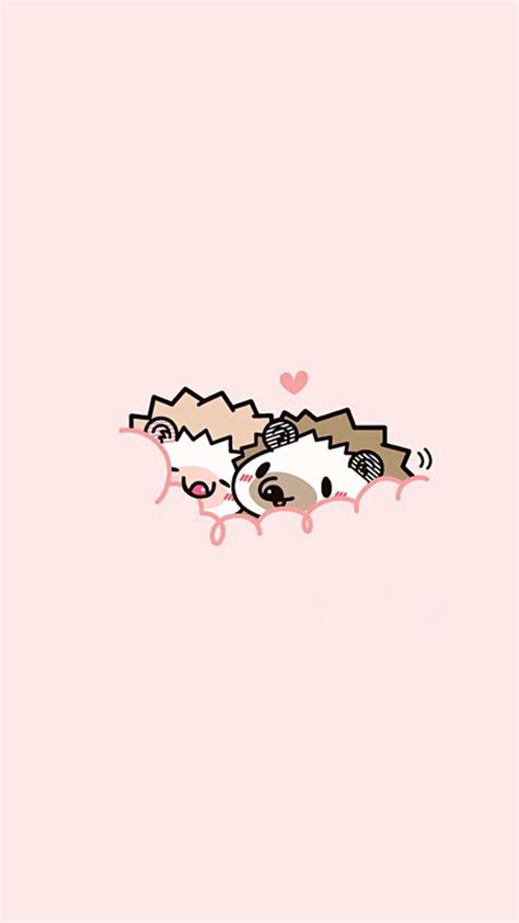 Hedgehog Love Iphone Wallpaper Iphone And Android