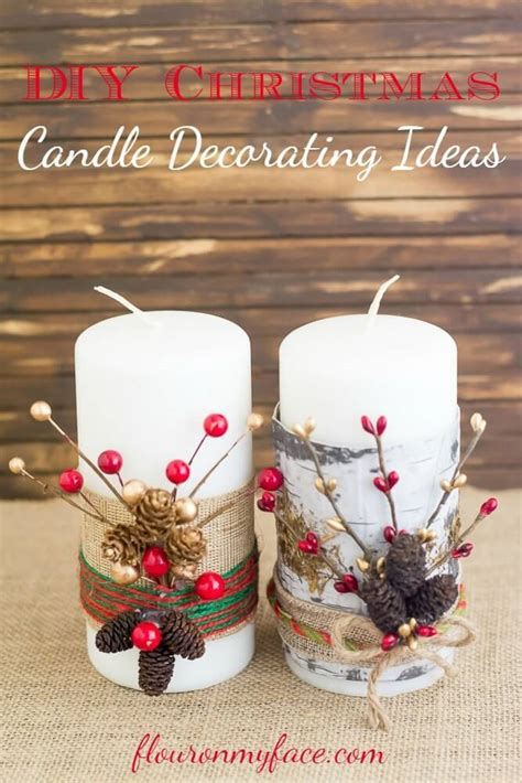 Candele Decorate by 32 Best Decorated Candle Ideas And Designs For 2019