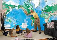 best world map wall murals World Map Wall Mural