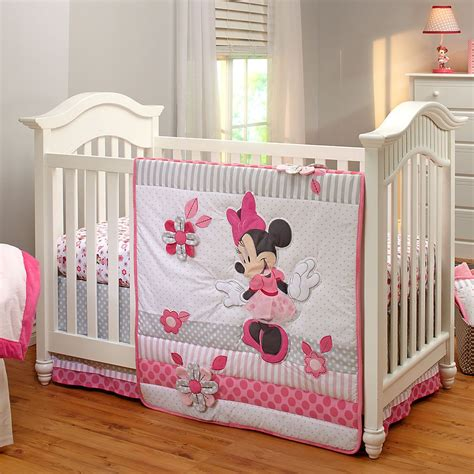Minnie Mouse Baby Bed by Minnie Mouse Nursery Bedding Thenurseries