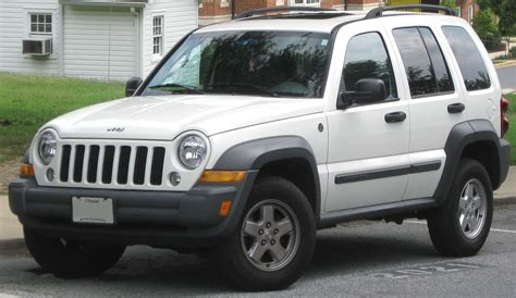 Chrysler Jeep Recalls by Chrysler Recalls Model Year 2004 2007 Jeep Libertys