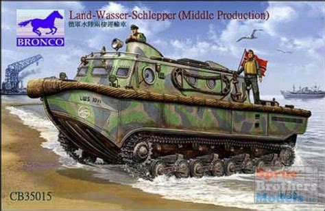 hibious vehicle ww2 bnc35015 1 35 bronco land wasser schlepper lws middle