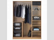 PAX Wardrobe Oak effectnexus vikedal 150x60x201 cm IKEA