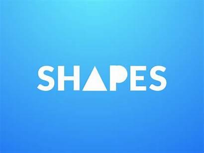 Text Animation Shape Shapes Dribbble Motion Icon