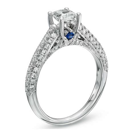 love princess cut diamond engagement ring vera wang the jewellery editor