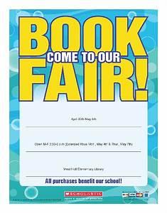 scholastic book fair flyer template west holt public With scholastic book fair flyer template