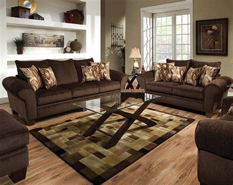 Chocolate Brown Sofa And Loveseat by 36 Best Images About Living Room Paint On