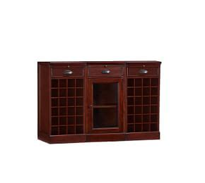 Modular Bar With Cabinet Tower by Build Your Own Modular Bar Cabinets Pottery Barn