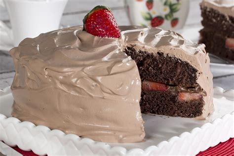chocolate strawberry dream cake mrfoodcom