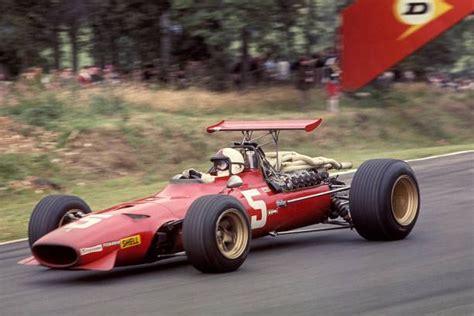 Chris amon, lorenzo bandini, derek bell, andrea de adamich, jacky ickx, ludovico scarfiotti, jonathan williams. 1968 GP Wielkiej Brytanii (Brands Hatch) Ferrari 312-68 ...