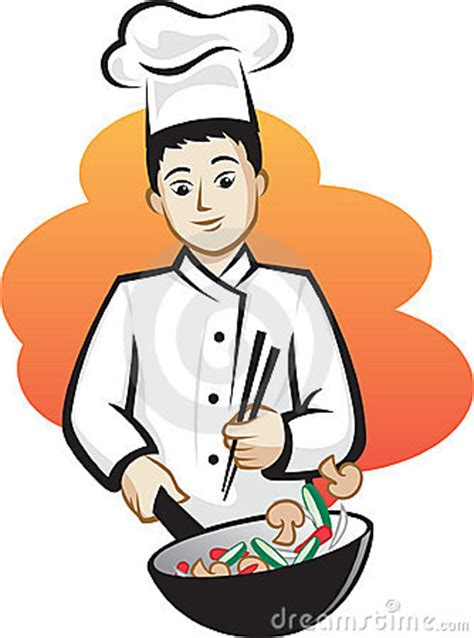 asian chef royalty  stock image image