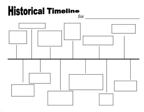 timeline templates  kids