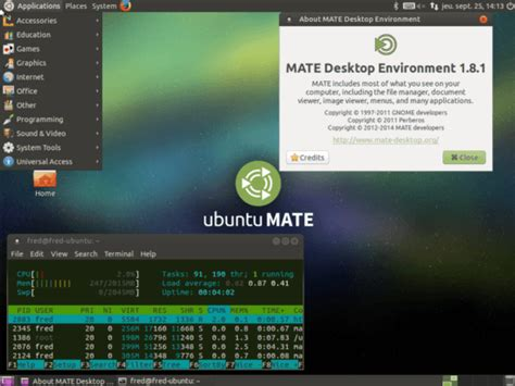 ubuntu installer le bureau mate memo linux com