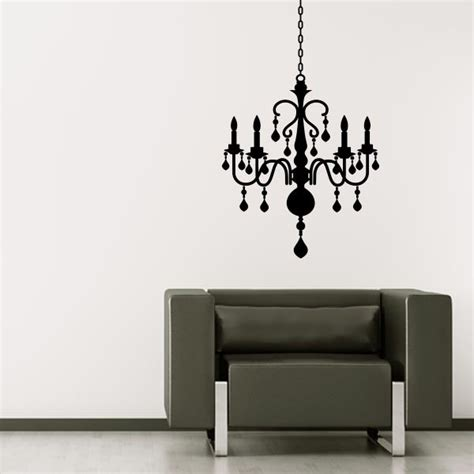 chandelier wall decal wall decal world