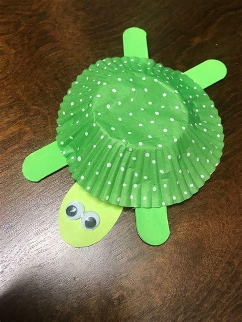 easy turtle craft  kids thriftyfun