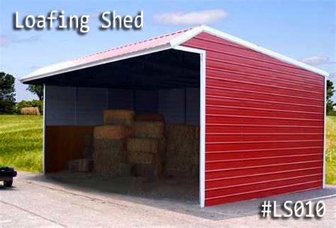 Loafing Shed Kits Oregon by Metal Loafing Sheds Delivered And Installed