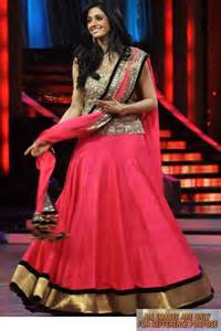 lengha choli for engagement pink sridevi replica lehenga fabric pink chiffon with
