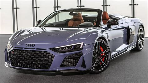 201920 Audi R8  First Official Footage!!  New Front