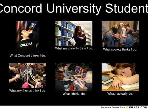 Uni Student Memes - concord university students meme generator what i do