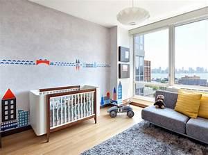 Le tapis chambre bebe des couleurs vives et de l for Tapis chambre bébé avec intérieur et canapé