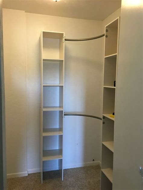Diy Walk In Closet Organization Ideas by Corner Closet Diy Diy Closet Bedroom Corner Closet