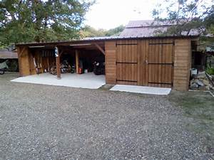 Construire Un Carport : deck 40 carport bois garages bois landes 40 gironde 33 ~ Premium-room.com Idées de Décoration