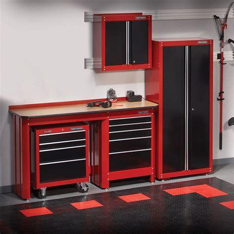Cabinets Garage Journal by Crasftman Work Bench New Craftsman Garage Storage