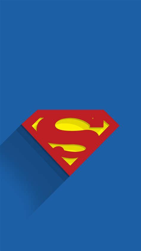 Ultra Hd Lock Screen Superman Wallpaper by Superman Logo Minimal Background Hd Wallpaper