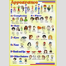 Describing Peoplephysical Appearance Adjectives List  Learn English Online