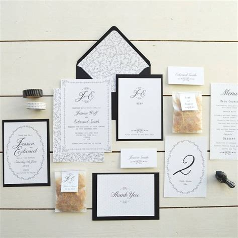 elegant picture  cheap wedding invitations sets